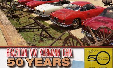 50 Anos do Karmann-Ghia brasileiro na HOT VWs
